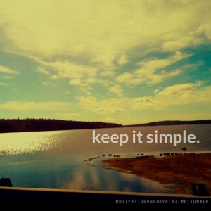 Keep it simple and stop defending yourself when you know your truth ...