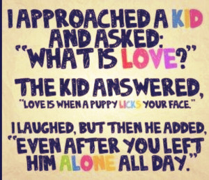 unconditional love children quotes