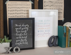 30 fabulous free printables {for the home}