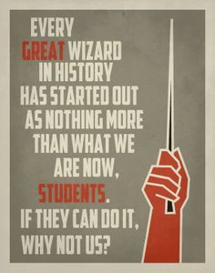 Harry Potter Quote for the classroom :) Inspirational Classroom Poster ...