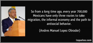 every year 700,000 Mexicans have only three routes to take: migration ...