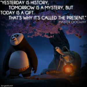 panda kung fu quote - Google-Suche | via Tumblr