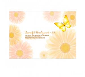 ... daisy-background-vector_015934_5_cute_little_daisy_background_vector_5