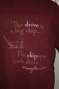 Vintage-Harvey-Penick-Licenced-Golf-Quote-T-shirt-L