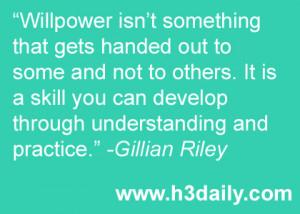 """Coaching Corner: """"Will""""-power"""
