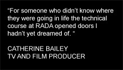 Theatre Quotes Stage Manager