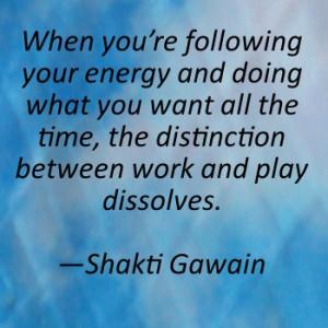 Shakti Gawain Quote