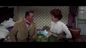 Maureen O'Hara and John Wayne in McLintock (1963, Andrew McLaglen ...