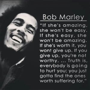 Love quote, Bob Marley