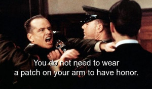 Movie, a few good men, quotes, sayings, famous, honor
