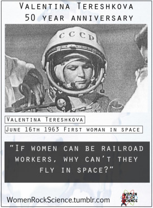 Valentina Tereshkova, the first woman in space and the only woman to ...