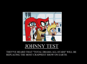 Total Drama Replaces Johnny Test in September. by thekirbykrisis