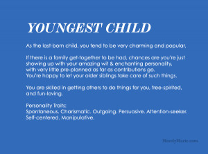 Youngest Child Personality