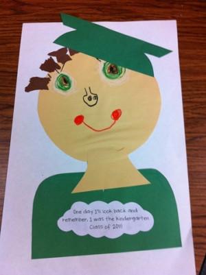 Kindergarten Graduation: Write what was favorite part of Kindergarten ...