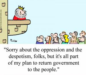Speech on Oppressive Governments vs. No Government at All Essay