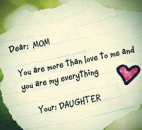 Happy Mothers Day Quotes From Daughter .