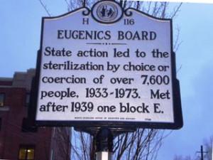 ... women sterilized under the state's 20th century eugenics program