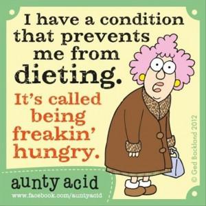 aunty acid, funny comic