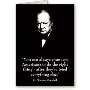Wise And Famous Quotes Of Sir Winston Churchill