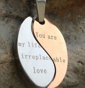 Gift for him mens Sentimental Quote: You are my life | Lo
