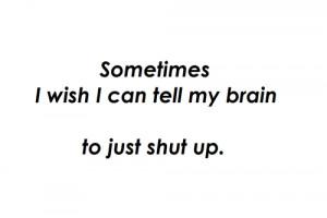 ... lee crook # shut up # brain # i think i think too much # i think too