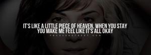 Christina Perri I Like You Quote Picture