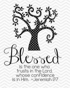 Blessed Printable BW; other colors available More