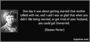 More Eleanor Porter Quotes