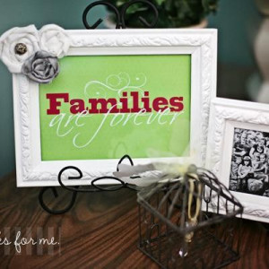 Families are Forever Printable #quotes #printable #family