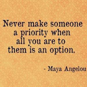 Maya Angelou Quote ~