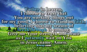 prayer quotes, daily prayer quotes, power of prayer quotes, prayer ...