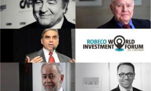 Hernando de Soto, Marc Faber, Kishore Mahbubani, Jim Walker and Martin