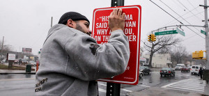 Rap Quotes: Artist Posts Street Signs At Places Referenced In Famous ...