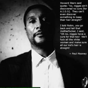 Paul Mooney on Howard Stern's comment...