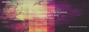 Maya Angelou 2 Facebook Covers