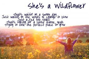 Lauren Alaina – She's a Wildflowermade by me :) JennyLynn♥