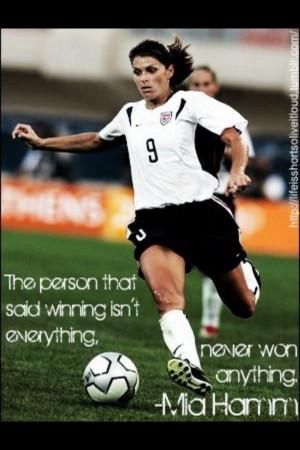 quotes mia hamm soccer quotes mia hamm soccer quotes mia hamm mia hamm ...