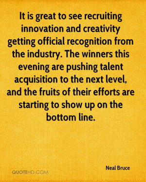 It is great to see recruiting innovation and creativity getting ...