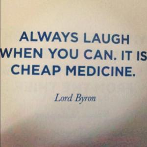 Laugh it off!