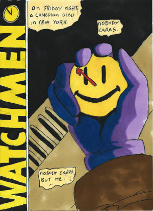 Watchmen quote by DoodlemanX on deviantART