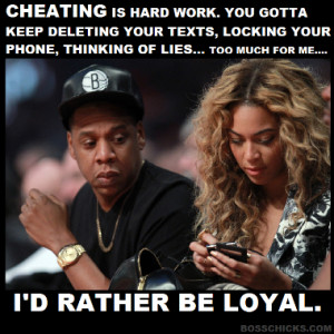 Cheating is hard work! (Pic)