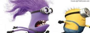 Funny Purple Minions