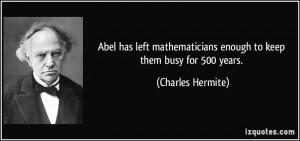 Mathematicians Quotes