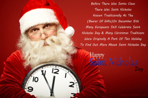 Happy Saint Nicholas Day 2013 Quotes With-Pictures