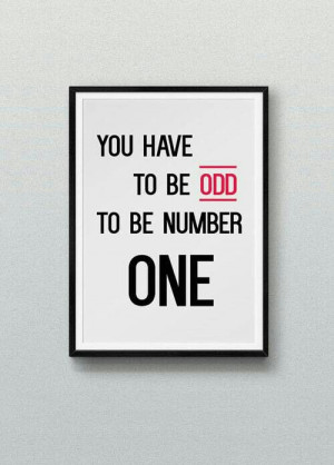 To be number one quote