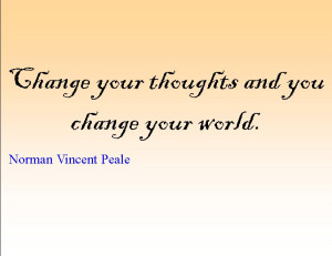 Quote of the Day : Norman Vincent Peale