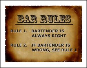 Funny Bar Signs Sayings