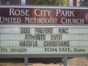 God Prefers Kind Atheists