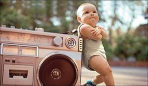 Yo quiero que mi bebe sea asi de rapero ... - asi tiene que ser mi ...