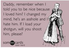 Haha don't mess with a Wildflower Cowgirl, if she's not packing you ...